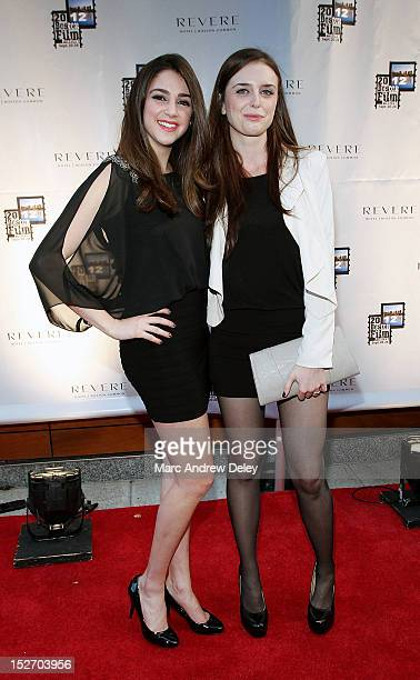 Katherine Narducci and Chelsea Amoroso attend the screening of 'To Redemption' during the 28th Annual Boston Film Festival at the Revere Hotel Boston...
