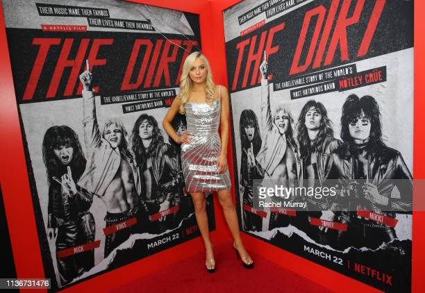 Katherine Neff attends the premiere of Netflix's 'The Dirt at the Arclight Hollywood on March 18 2019 in Hollywood California