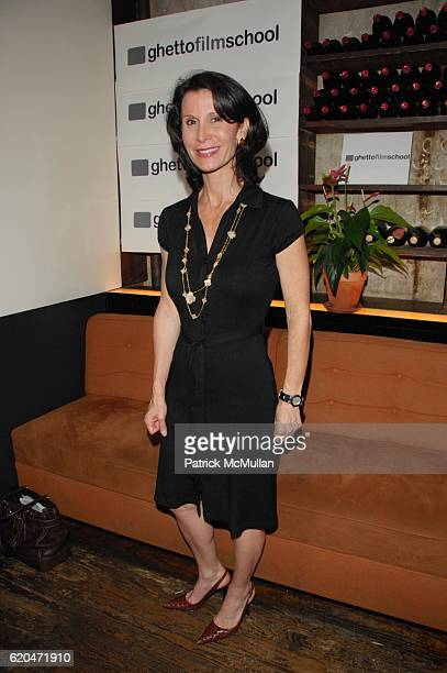 Katherine Oliver attends GHETTO FILM SCHOOL Annual Spring Benefit Dinner at Bottino NYC on June 9 2008 in New York City