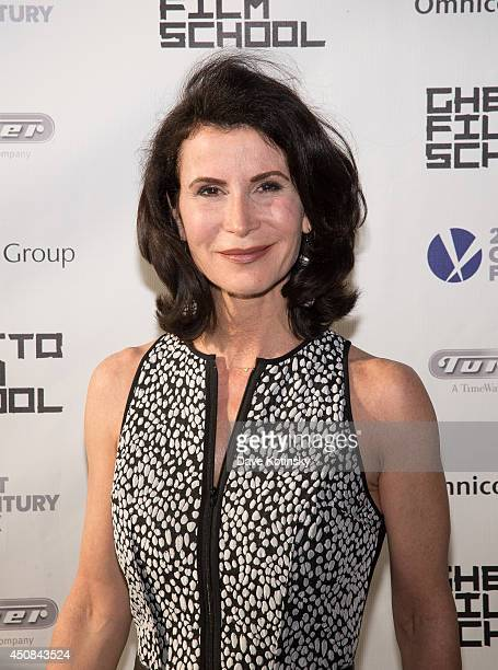 Katherine Oliver attends the Ghetto Film School 10th annual spring benefit at The Standard Biergarten on June 18 2014 in New York City