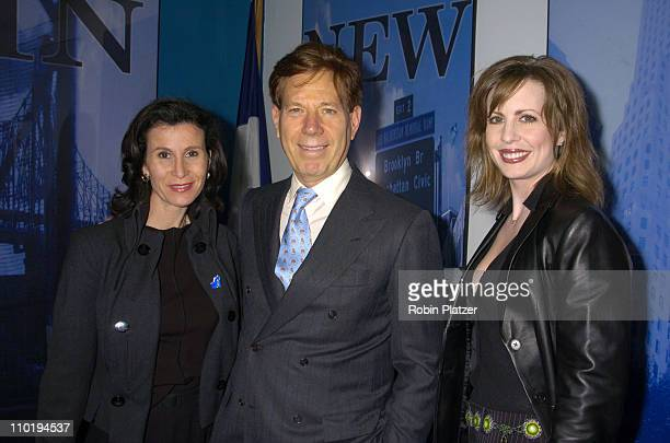 Katherine Oliver Commisioner of Mayors Office of TV Film and Theatre Peter Price head of Natas and Martha Byrne