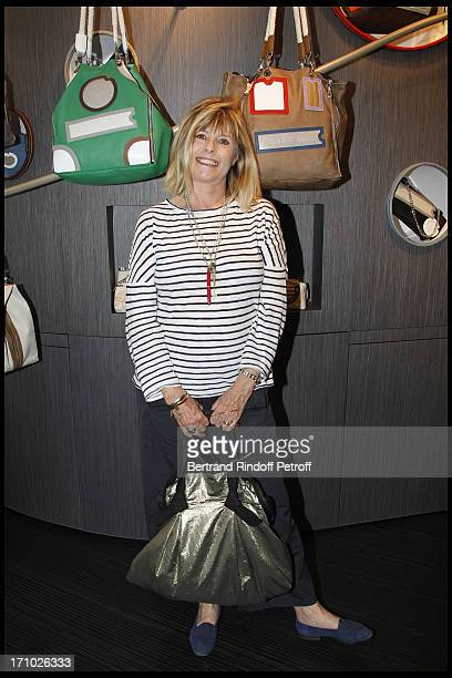 Katherine Pancol at Inauguration Of First Boutique Barbara Rhil In Paris