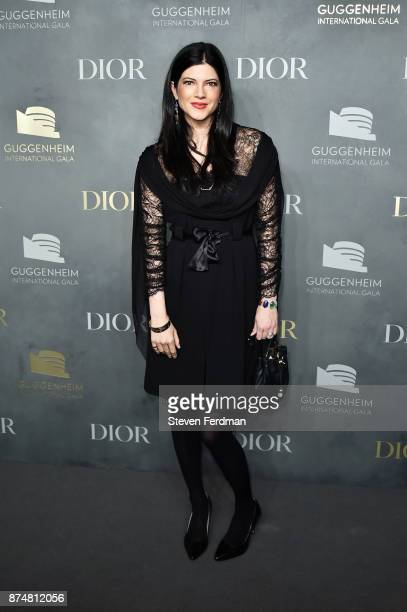 Katherine Parr attends the 2017 Guggenheim International Gala PreParty made possible by Dior on November 15 2017 in New York City