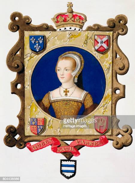 Katherine Parr sixth wife and Queen of Henry VIII Portrait of Katherine as a young woman The last of Henry's six wives she outlived the king by a...