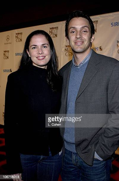 Katherine Pope, VP Drama Development at NBC and Richard Robbins