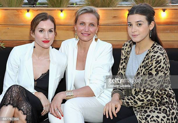 Katherine Power, actress Cameron Diaz and stylist Jamie Schneider Mizrahi attend House of Harlow 1960 x REVOLVE on June 2, 2016 in Los Angeles,...