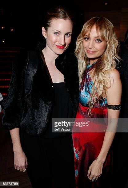 Katherine Power and Nicole Richie attend the fundraiser for the U.S. Fund for UNICEF TAP Project hosted by Sony Cierge and the Richie-Madden...