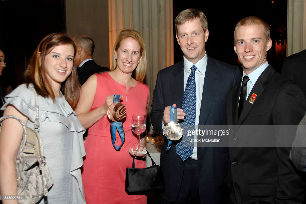 Katherine Reutter, Willa Baynard, Robert Baynard and Patrick Meek attend Right To Play RED BALL GALA at Gotham Hall on May 25, 2010 in New York City.