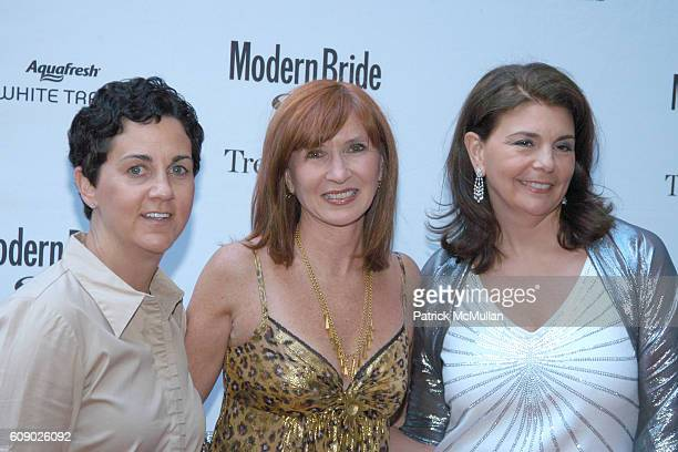 """Katherine Rizzuto, Nicole Smith and Antonia van der Meer attend MODERN BRIDE Names """"25 TRENDSETTERS of 2007"""" at The New York Palace Hotel on May 9,..."""