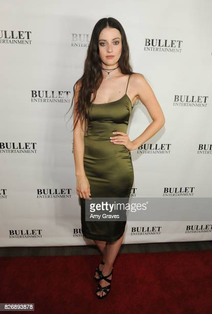 Katherine Rodriguez attends Wendy Benge's Launch of Film Studio Bullet Studios on August 5 2017 in Los Angeles California