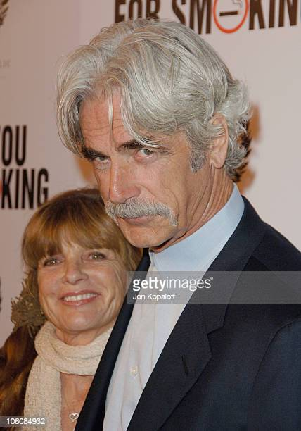Katherine Ross and husband Sam Elliott during Thank You For Smoking Los Angeles Premiere at Directors Guild of America in Hollywood California United...
