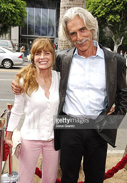 Katherine Ross and Sam Elliott during Barnyard World Premiere Arrivals at Cinerama Dome in Hollywood California