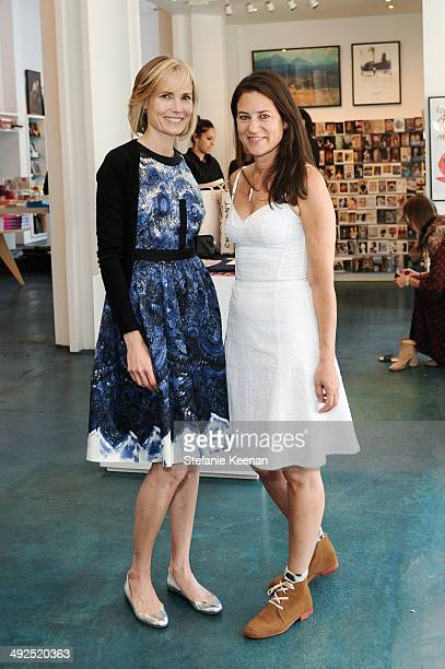 Katherine Ross and Willow Bay attend LACMA's Director's Circle And NETAPORTER Celebrate The Wear LACMA Spring 2014 Collection at LACMA on May 20 2014...