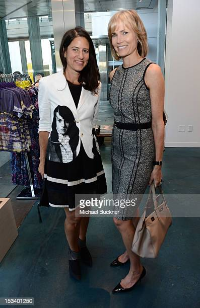 Katherine Ross and Willow Bay attends the Director's Circle Celebration of WEAR LACMA Inaugural Designs by Johnson Hartig For Libertine And Gregory...