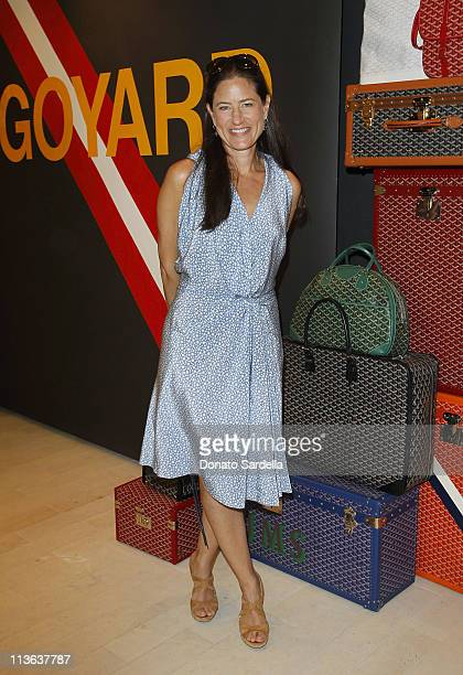 Katherine Ross attends Barneys New York And Vogue Lunch To Celebrate Goyard Hosted By Amanda Brooks And Lawren Howell at Barneys New York Beverly...