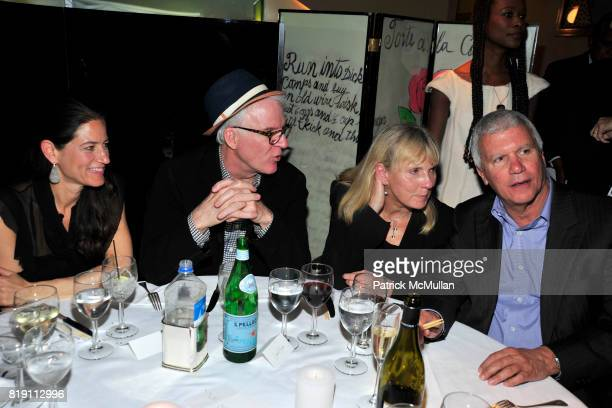 Katherine Ross Steve Martin Eva Shaye and Larry Gagosian attend LARRY GAGOSIAN hosts a Private Dinner for the ANDREAS GURSKY Opening Exhibition at...