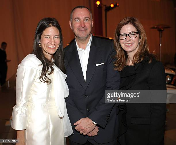 Katherine Ross Vanity Fair publisher Edward Menicheschi and actress Dana Delany attend the BMW Art Car US Tour hosted by Vanity Fair held at LACMA on...