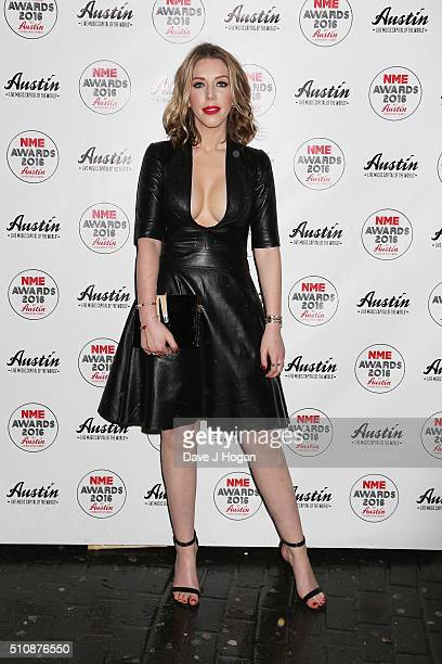 Katherine Ryan arrives for the NME awards at O2 Academy Brixton on February 17 2016 in London England