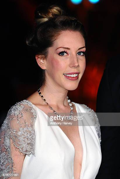 Katherine Ryan attends the 2014 British Academy Games Awards at Tobacco Dock on March 12 2014 in London England