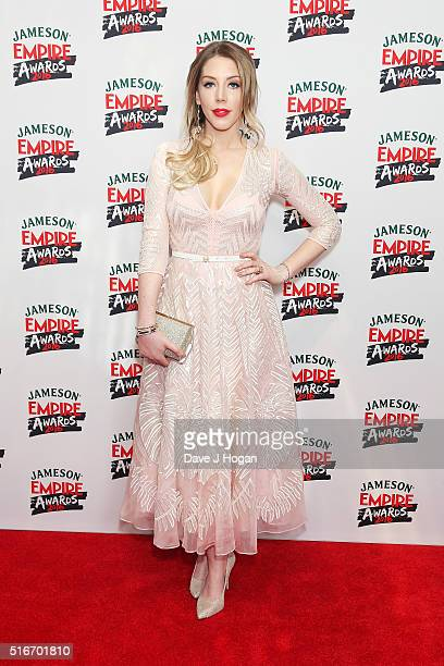 Katherine Ryan attends the Jameson Empire Awards 2016 at The Grosvenor House Hotel on March 20 2016 in London England