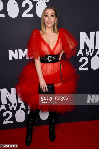 Katherine Ryan attends the NME Awards 2020 at O2 Academy Brixton on February 12 2020 in London England