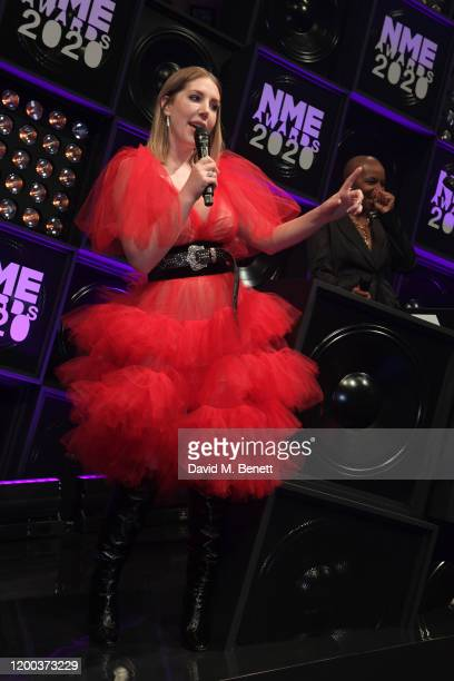 Katherine Ryan attends The NME Awards 2020 at the O2 Academy Brixton on February 12 2020 in London England