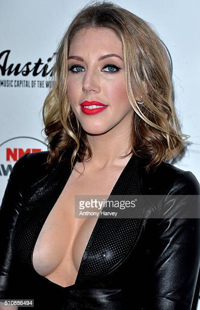 Katherine Ryan attends the NME awards at O2 Academy Brixton on February 17 2016 in London England