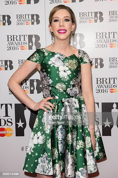 ONLY] Katherine Ryan attends the nominations launch for The Brit Awards 2016 at ITV Studios on January 14 2016 in London England