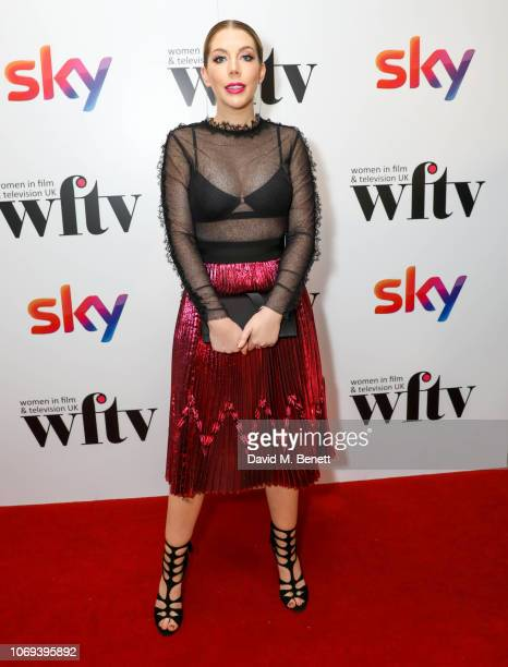 Katherine Ryan attends the Sky Women in Film and Television UK Awards 2018 at the London Hilton on December 7 2018 in London England