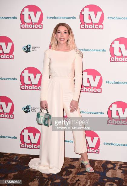 Katherine Ryan attends The TV Choice Awards 2019 at Hilton Park Lane on September 09 2019 in London England
