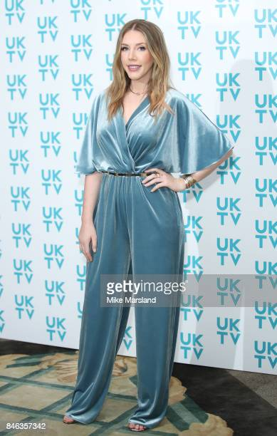 Katherine Ryan attends the UKTV Live 2017 photocall at Claridges Hotel on September 13 2017 in London England Broadcaster announces it's programs for...