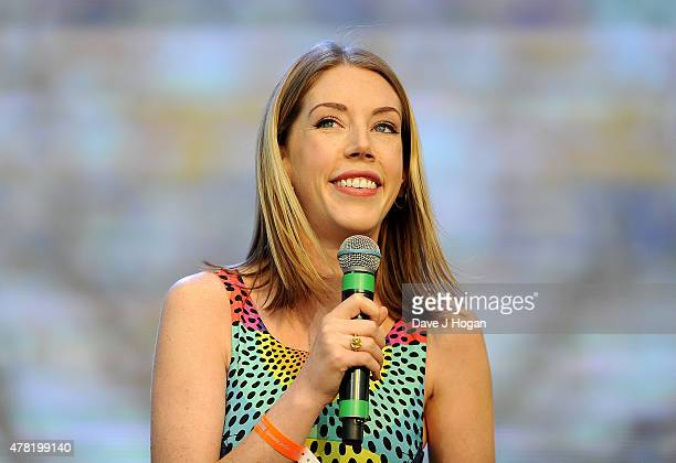 REQUIRED Katherine Ryan performs at British Summer Time 2015 at Hyde Park on June 23 2015 in London England
