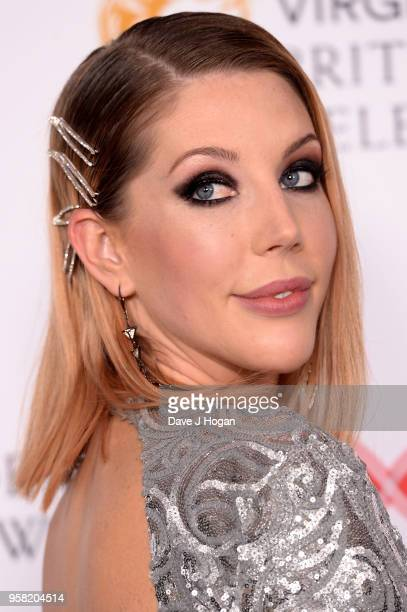 Katherine Ryan poses in the press room at the Virgin TV British Academy Television Awards at The Royal Festival Hall on May 13 2018 in London England
