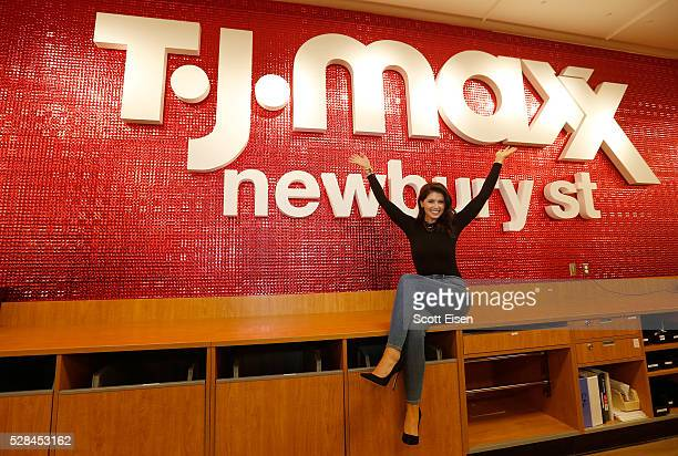 Katherine Schwarzenegger attends TJMaxx Kicks Off the 'Road to Real' a Nationwide Tour to Share Inspiration From Women Across the Country on May 4...