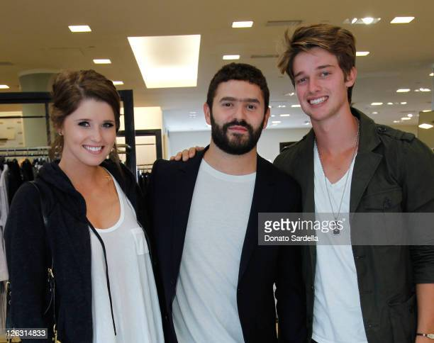 Katherine Schwarzenegger Designer Alexander Mattiussi and Patrick Schwarzenegger attend Barneys New York Fetes the Launch of AMI Alexandre Mattiussi...