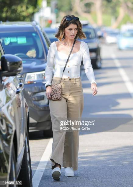 Katherine Schwarzenegger is seen on September 20 2019 in Los Angeles California