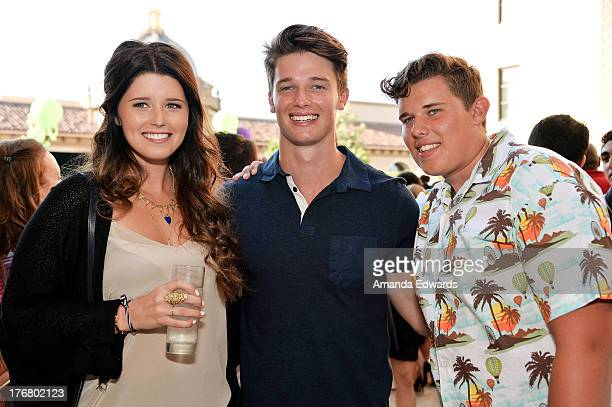 Katherine Schwarzenegger Patrick Schwarzenegger and Christopher Schwarzenegger attend the Team Maria benefit for Best Buddies at Montage Beverly...
