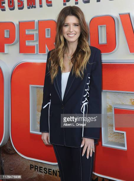 Katherine Schwarzenegger, Pedigree Brand Ambassador, arrives for Cosmic Picture's Superpower Dogs held at California Science Center on March 9, 2019...