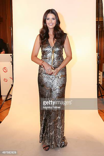 Katherine Schwarzenegger poses during the Look Women Of The Year Awards 2015 at the city hall on November 17 2015 in Vienna Austria