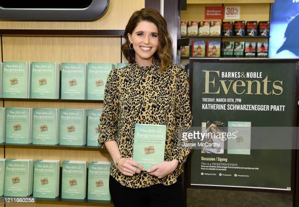 Katherine Schwarzenegger Pratt signs copies of her new book at Barnes & Noble, 86th & Lexington on March 10, 2020 in New York City.