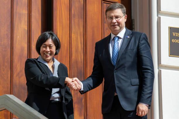 DC: U.S. Trade Representative Tai Meets European Union Trade Commissioner Dombrovskis