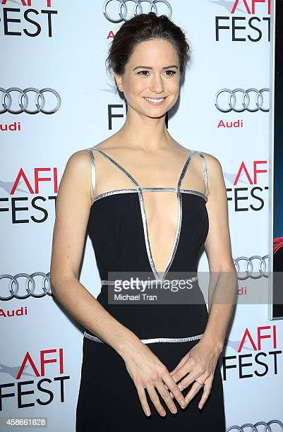 Katherine Waterston arrives at AFI FEST 2014 presented by Audi gala premiere of Inherent Vice held at the Egyptian Theatre on November 8 2014 in...
