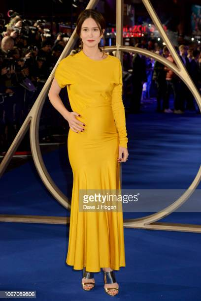 Katherine Waterston attends 'Fantastic Beasts The Crimes Of Grindelwald' UK Premiere at Cineworld Leicester Square on November 13 2018 in London...