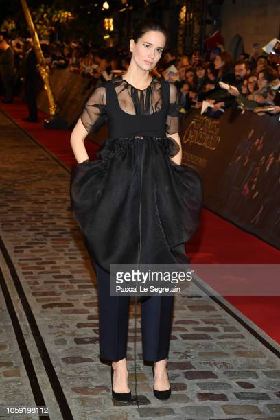 Katherine Waterston attends Fantastic Beasts The Crimes Of Grindelwald World Premiere at UGC Cine Cite Bercy on November 8 2018 in Paris France