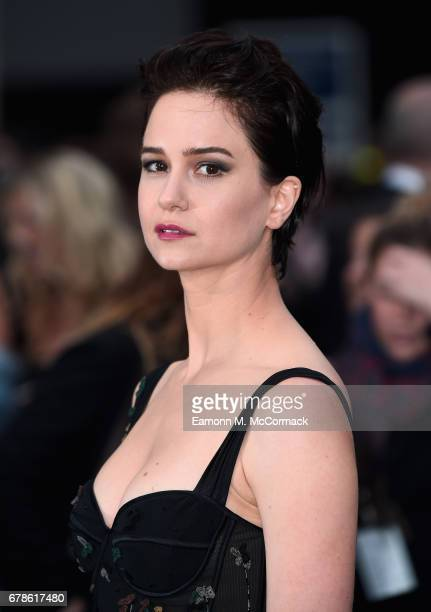 Katherine Waterston attends the Alien Covenant World Premiere at the Odeon Leicester Square on May 4 2017 in London England