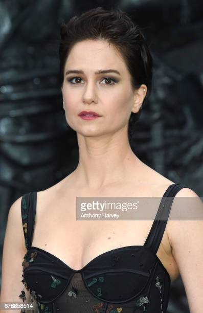 Katherine Waterston attends the World Premiere of Alien Covenant at Odeon Leicester Square on May 4 2017 in London England