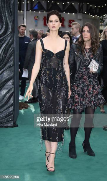 Katherine Waterston attends the World Premiere of 'Alien Covenant' at Odeon Leicester Square on May 4 2017 in London England