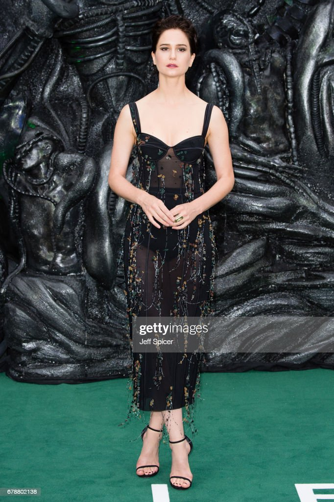 Katherine Waterston attends the World Premiere of 'Alien: Covenant' at Odeon Leicester Square on May 4, 2017 in London, England.