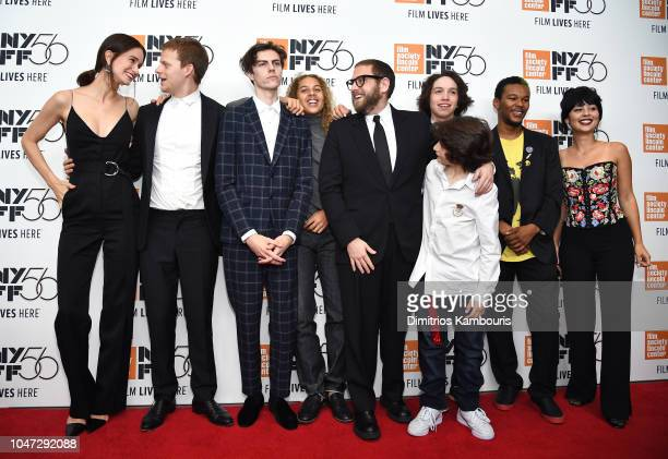 Katherine Waterston Lucas Hedges Ryder McLaughlin Olan Prenatt Jonah Hill Sunny Suljic Gio Galicia Nakel Smith and Alexa Demie and attend the Mid90s...