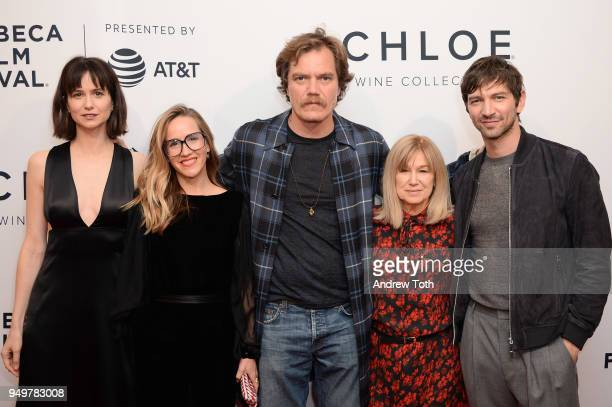 Katherine Waterston Meredith Danluck Michael Shannon Mary Kay Place and Michiel Huisman attend a screening of State Like Sleep during the 2018...